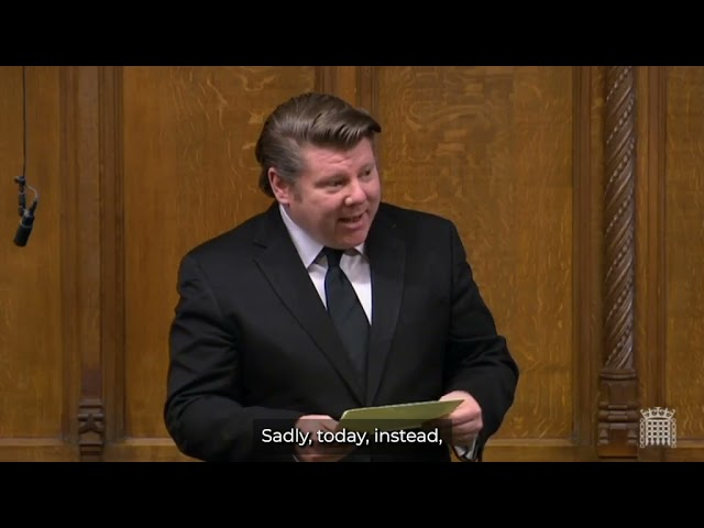 Dean Russell MP pays tribute to Prince Philip in the House of Commons