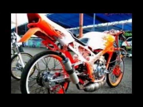 Video Gambar Modifikasi Motor Ninja Drag Race Youtube