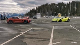 ZED DRIFTING HIS GT-R AROUND HURACAN - WORTHERSEE 2019