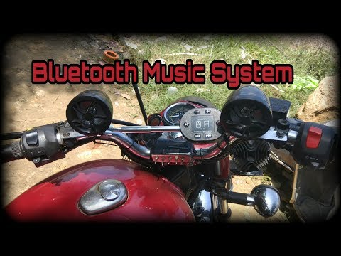 Best Bluetooth Speakers For Bikes | PAGARIA Music System with FM Radio | Royal Enfield Bullet | ES