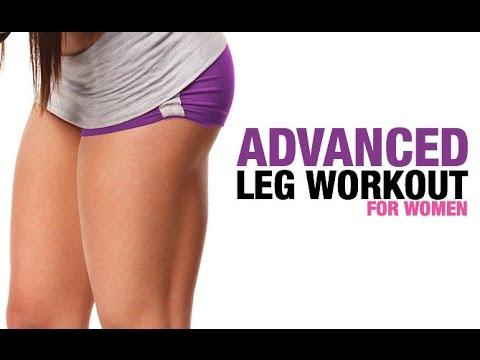 Advanced Leg Workout for Women (HARD WORKOUT - FIRM THIGHS!)