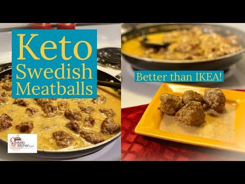 Keto Swedish Meatballs Better Than IKEAS without the Carbs #EasyKetoRecipe #BudgetKeto #Ketofamily