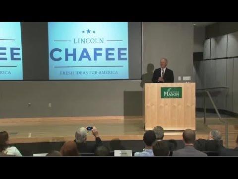 Lincoln Chafee Announces Run for President