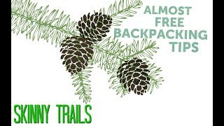 Almost Free Backpacking Hacks