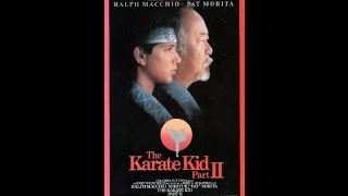 Opening To The Karate Kid:Part 2 1987 VHS