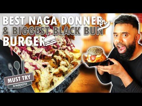SMASH BURGERS & NEVER SEEN BEFORE DONNER KEBABS IN MANCHESTER (Jalfrezi, madras, naga kebabs & more)