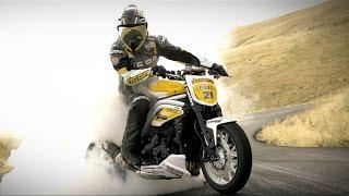 Видеоурок - Как делать дрифт на мотоцикле - How To Drift