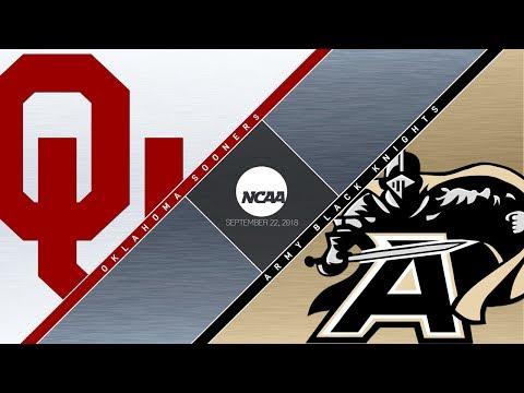 OU Highlights vs  Army (09/22/18)