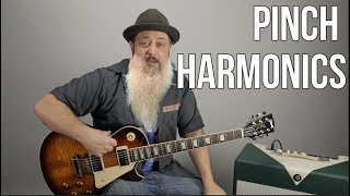 How to Get Pinch Harmonics Like Billy Gibbons From ZZ Top