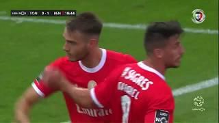 Goal   Golo Ferro: Tondela 0-(1) Benfica (Liga 19/20 #8)
