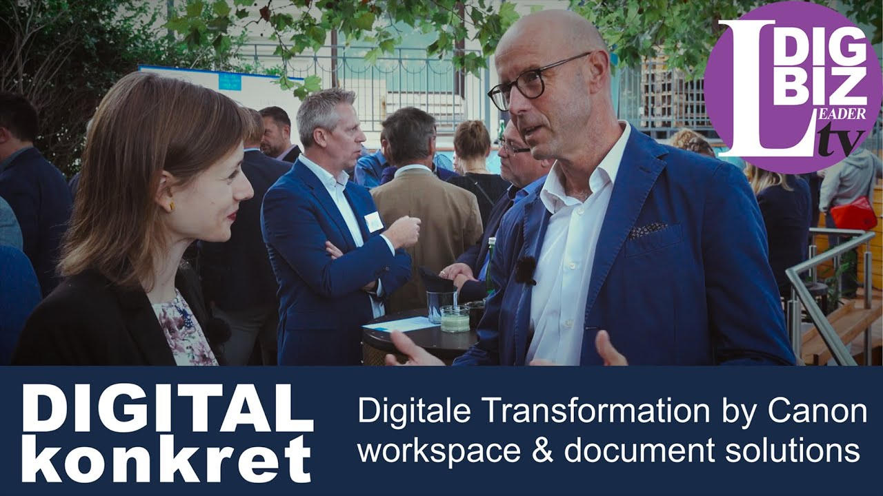 DIGITAL konkret: Digitale Workspace & Document-Lösungen von Canon