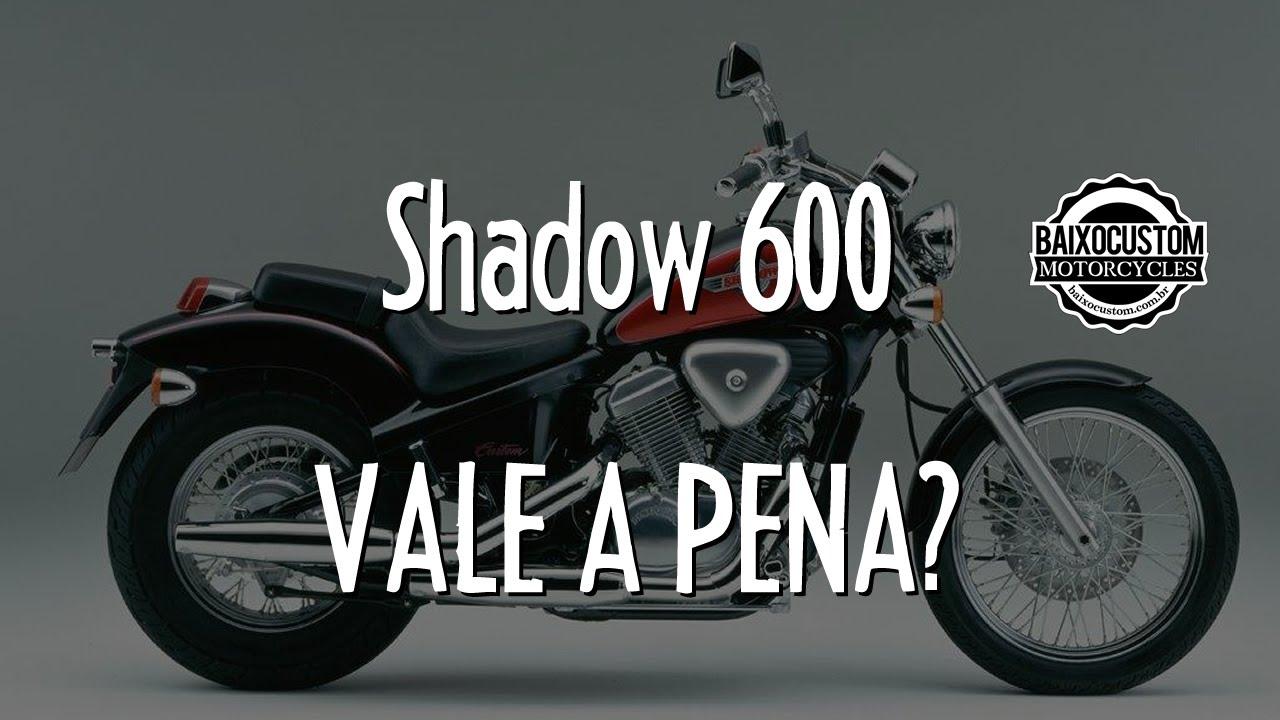 Shadow 600 Vale A Pena    Motovlog Baixo Custom Gopro