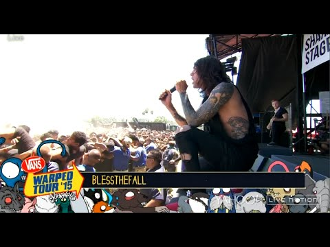 Blessthefall Live Vans Warped Tour 2015 [New Song]