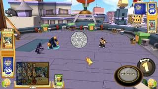 Marvel Super Hero Squad Online Trading Card Game Gameplay- HD