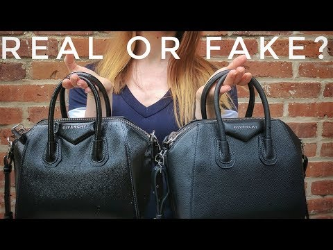 a2bc707723 Fake or Real  Is Your Mini Givenchy Antigona Authentic  - YouTube