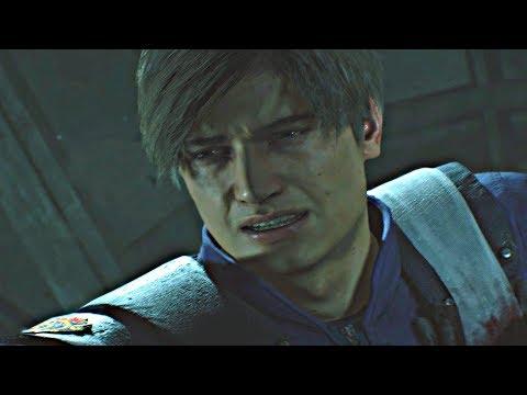 Resident Evil 2 Remake - Tyrant Final Boss & True Ending (Leon Story) RE2 2019 PS4 Pro