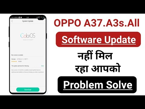 OPPO A37.A3s.All Software Update Problem Solve 100% Working