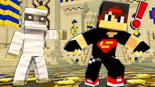 ماين كرافت مودات : كيف تكتشف المومياء السرية - Minecraft !! 😱🔥
