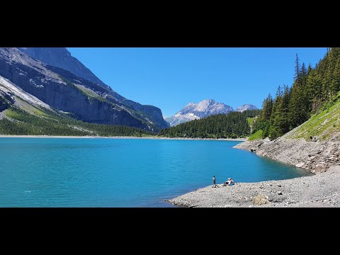 You won't believe how remarkably blue is this lake in Switzerland | Oeschinen Lake