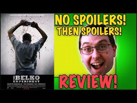 REVIEW! The Belko Experiment - No Spoilers, Then Spoilers! - Written by James Gunn