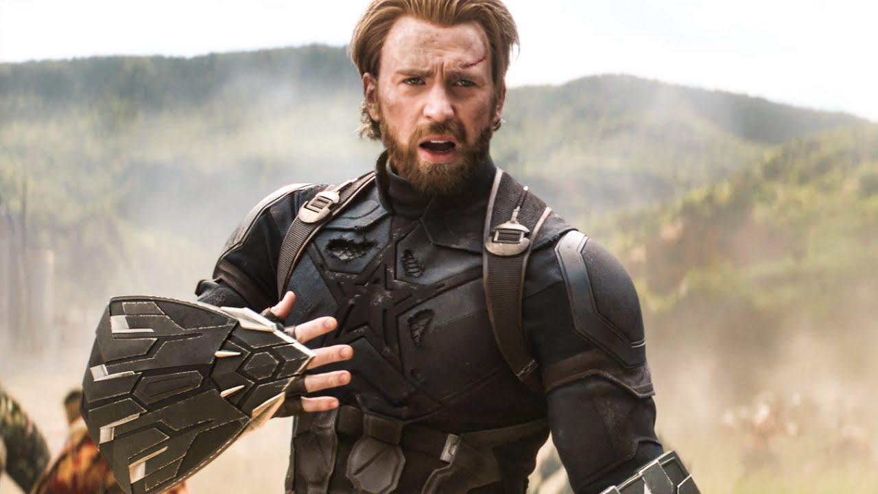 captain america meets groot scene - avengers 3: infinity war (2018