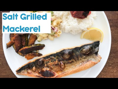 Saba Shioyaki | Japanese Style Salt Grilled Mackerel 
