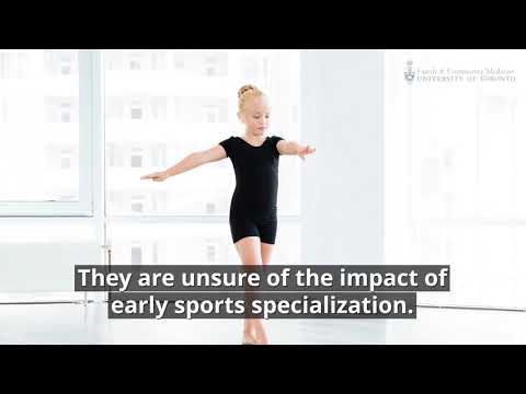 Opinion Piece Questions Assumptions About Early Sports Specialization