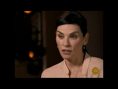 Julianna Margulies on CBS News Sunday Morning (27/9/2015)