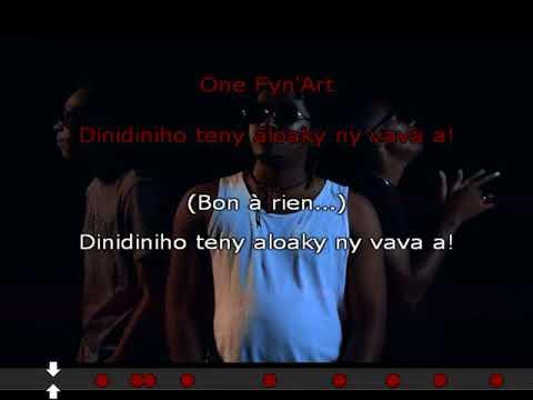 ONE FY N'ART   Bon à Rien Karaoke by Z Ravaka