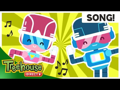 Let's Do The Robot! | Fun Robot Songs For Kids | Treehouse Toon Bops