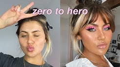 ZERO TO HERO PINK MAKEUP TUTORIAL | JAMIE GENEVIEVE