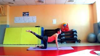 видео-урок «Разминка спины» 15 минут