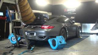 Reprogrammation Moteur Porsche 997 turbo 500cv @ 559cv Digiservices paris 77183 Dyno