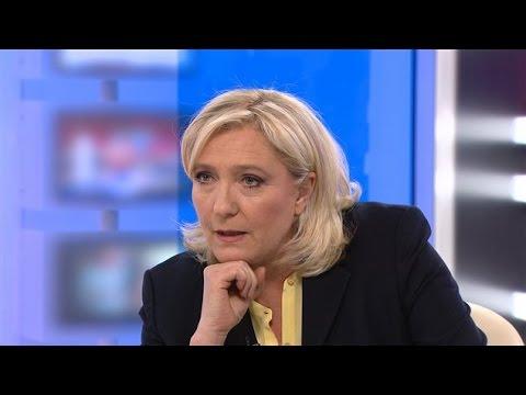 Entrevue avec Marine Le Pen