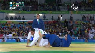 Judo | Uzbekistan v Japan | Men's +100 kg Semi-final | Rio 2016 Paralympic Games