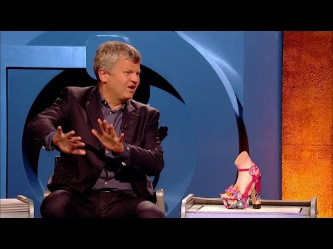 Adrian Chiles on women's toes and their shoes - Room 101: Series 4 Episode 8 Preview - BBC One
