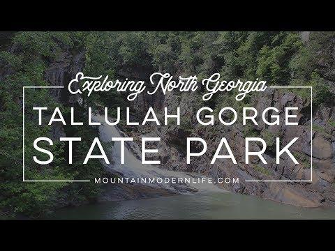 Exploring North Georgia: Tallulah Gorge State Park
