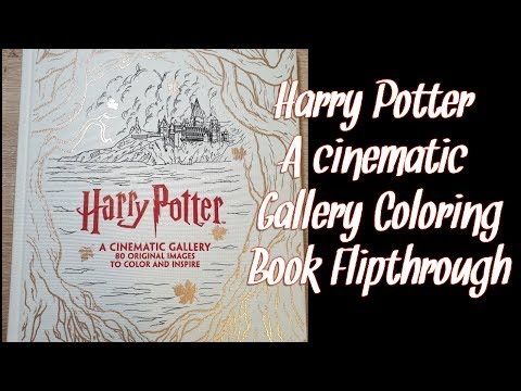 harry-potter-a-cinematic-gallery-coloring-book-flipthrough