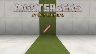 minecraft lightsabers one command ijaminecraft contest entry