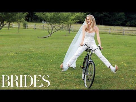 Victoria's Secret Angel Lindsay Ellingson's Custom Wedding Dress Fitting - BRIDES