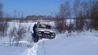 Снегоход трофи 2017 на Nissan Patrol