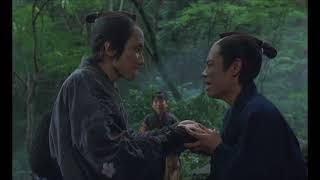 壬生義士伝 函館へ向かう嘉一郎と千秋 別れの水杯