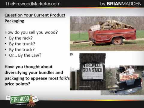 Firewood Marketing by the Book Part 2