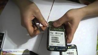 Fly IQ442 Quad разборка, замена начинки