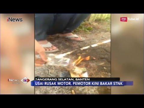 Usai Ngamuk dan Rusak Motor Saat Ditilang, Pengendara Ini Bakar STNK - iNews Sore 08/02