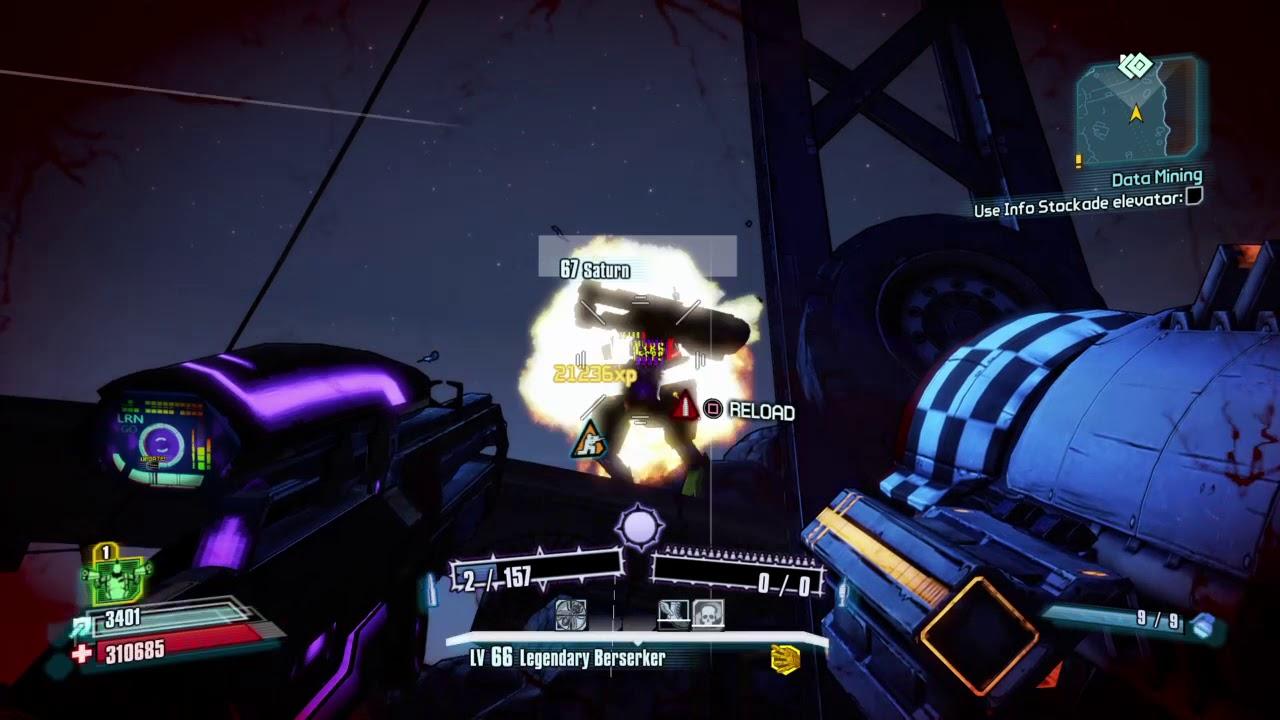 Borderlands 2 - Saturn vs Pimper-Duuurp