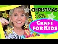 Easy CHRISTMAS CRAFT for Kids   CHRISTMAS  STAR  ornament