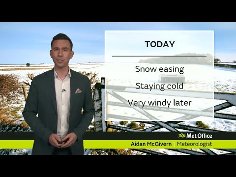 Wednesday morning Forecast 17/01/18