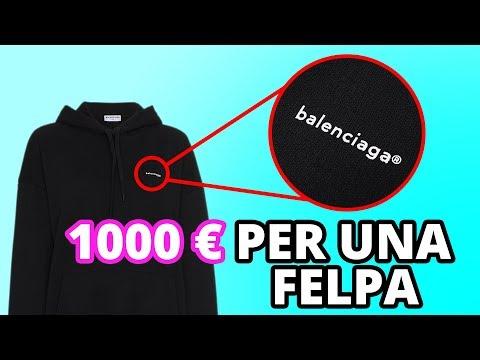 1000€ PER UNA FELPA?!? ECCO PERCHÈ I BRAND DI LUSSO FANNO PAGARE  TANTO I LORO PRODOTTI