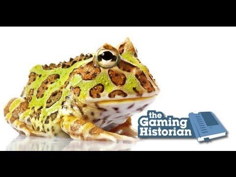 Pac-Man Frog - Gaming Historian
